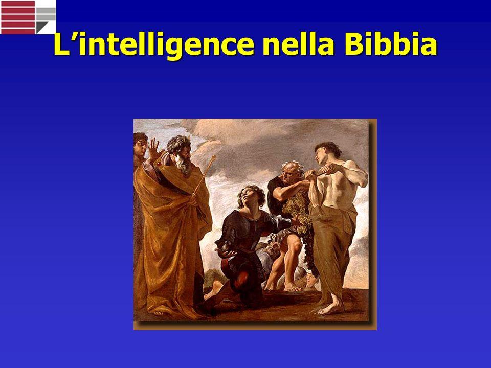 L'intelligence nella Bibbia