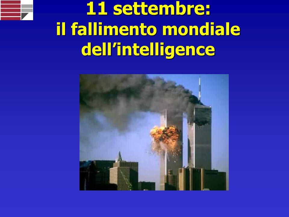 11 settembre: il fallimento mondiale dell'intelligence