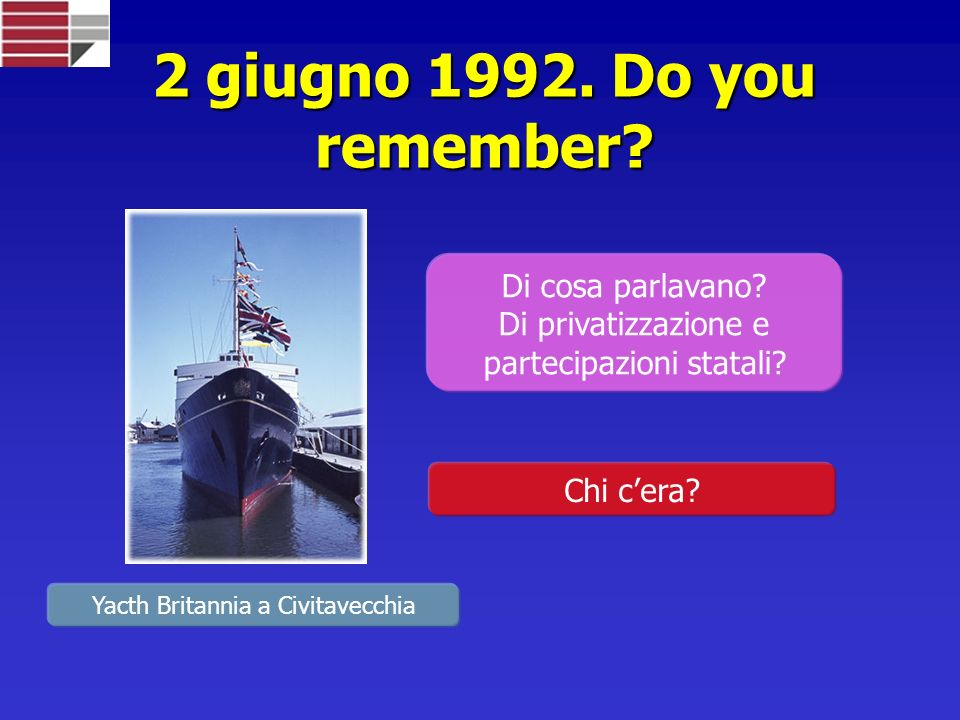 2 giugno 1992. Do you remember Di cosa parlavano