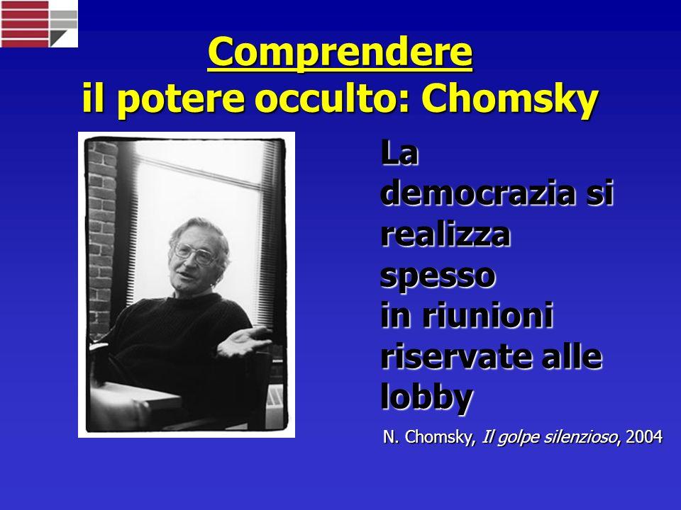 Comprendere il potere occulto: Chomsky