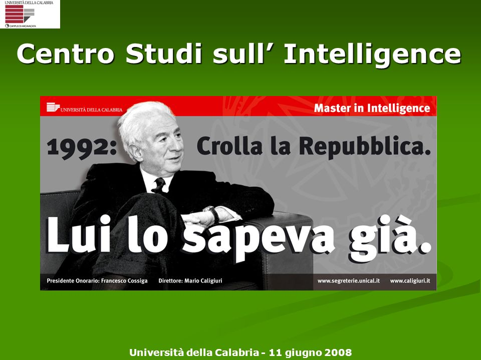 Centro Studi sull' Intelligence