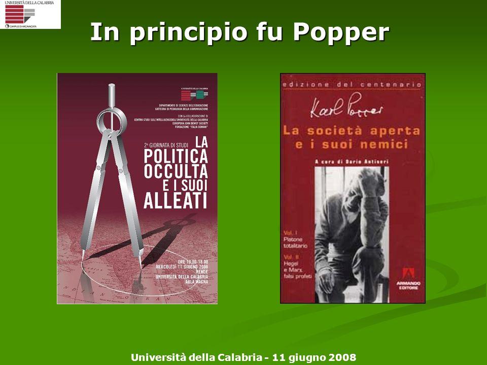 In principio fu Popper Copertina libro + manifesto 100