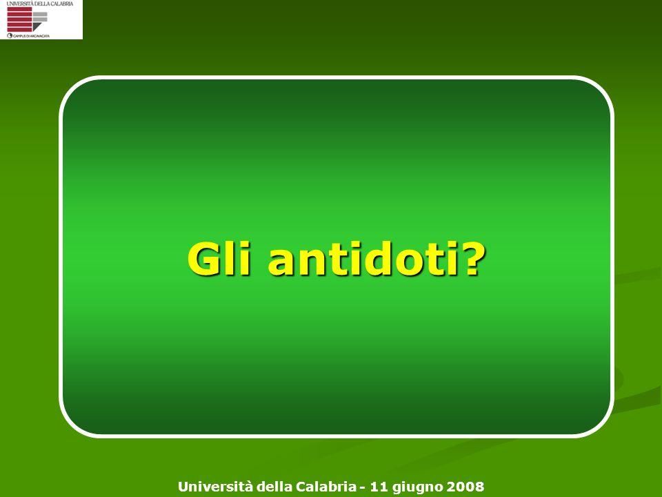 Gli antidoti