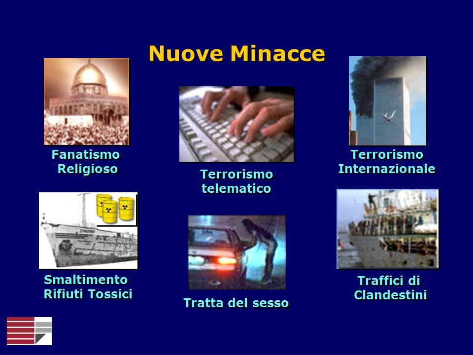 Nuove Minacce Fanatismo Religioso Terrorismo Internazionale Terrorismo