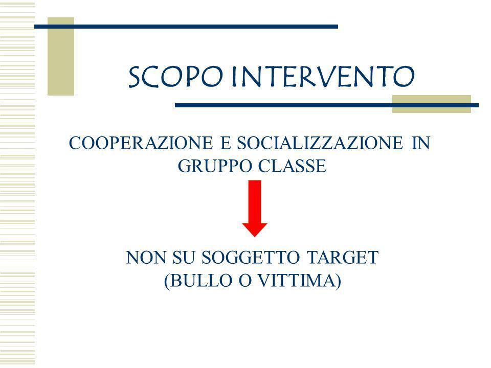 COOPERAZIONE E SOCIALIZZAZIONE IN
