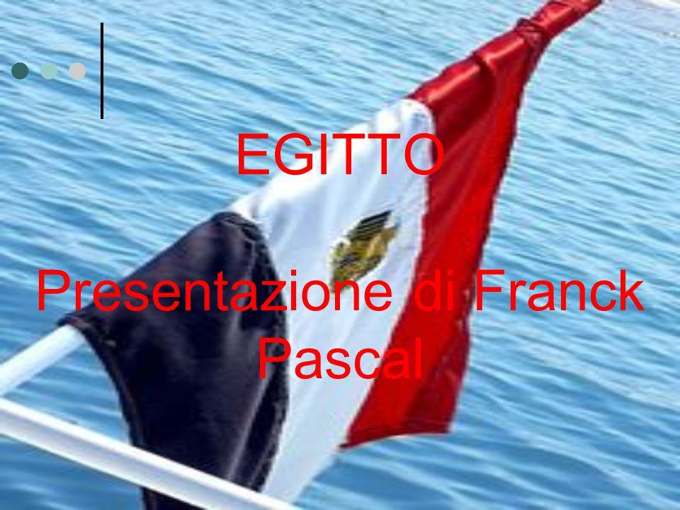 EGITTO Presentazione di Franck Pascal