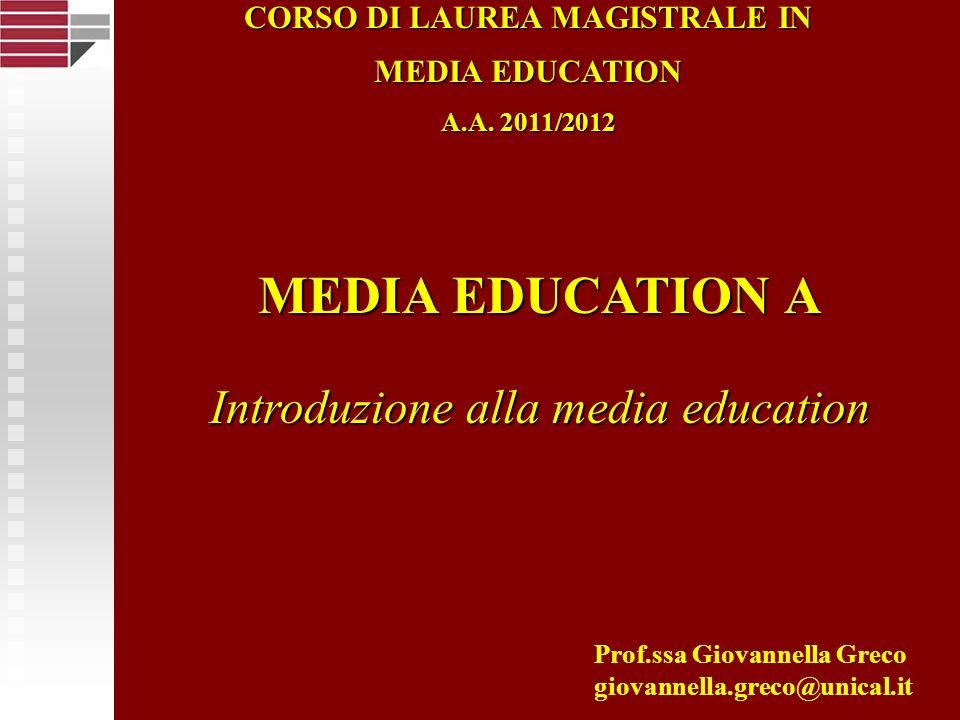 CORSO DI LAUREA MAGISTRALE IN
