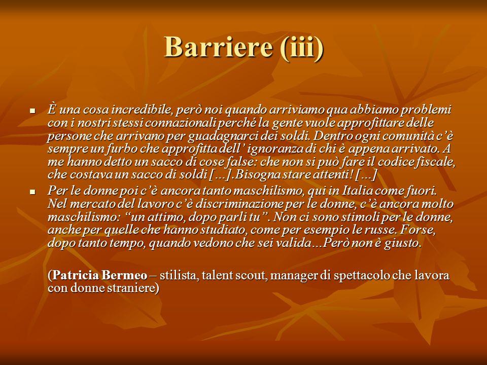 Barriere (iii)