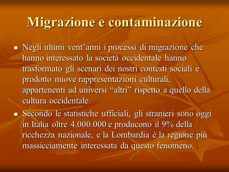 Migrazione e contaminazione