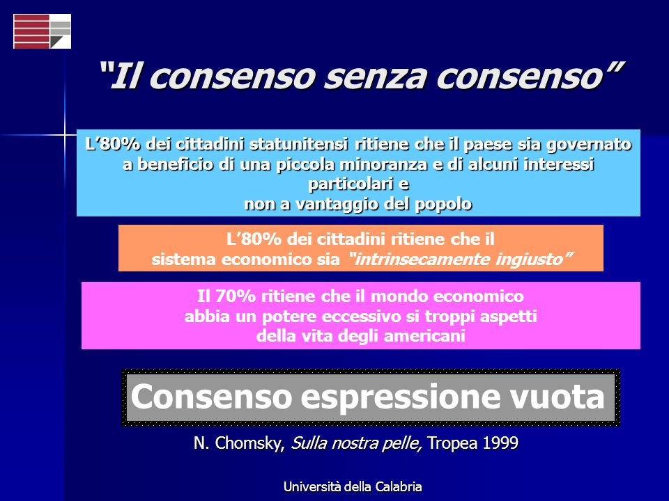 Il consenso senza consenso