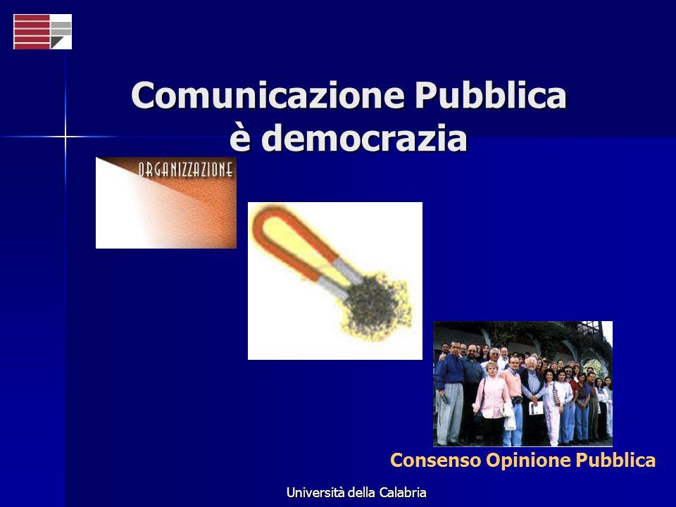 Comunicazione Pubblica è democrazia