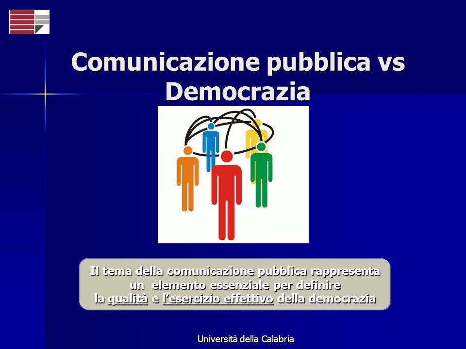 Comunicazione pubblica vs Democrazia