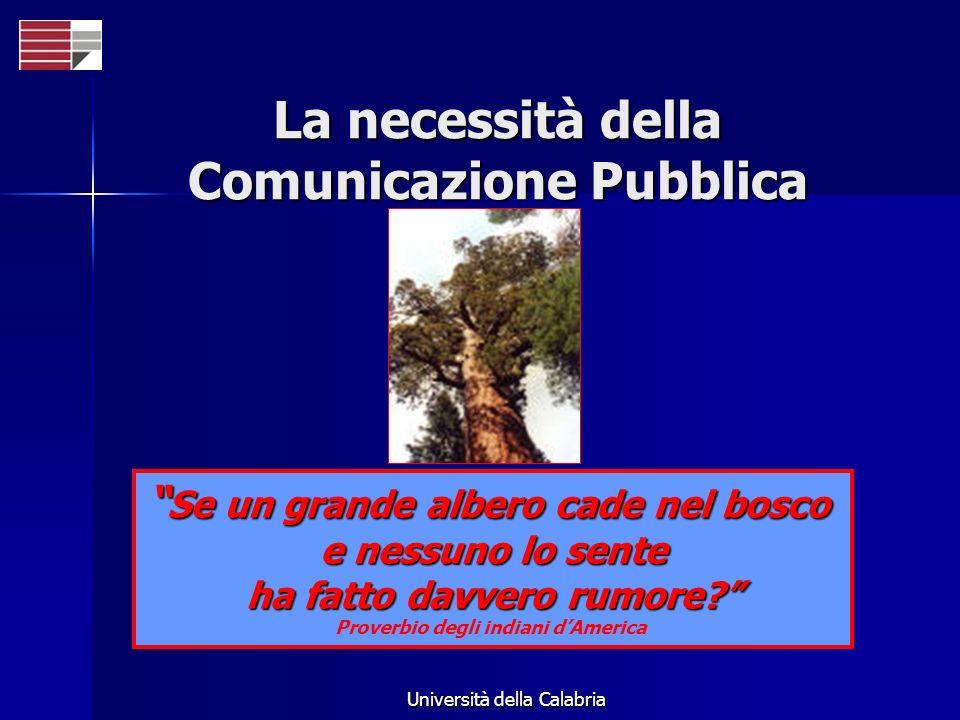 La necessità della Comunicazione Pubblica
