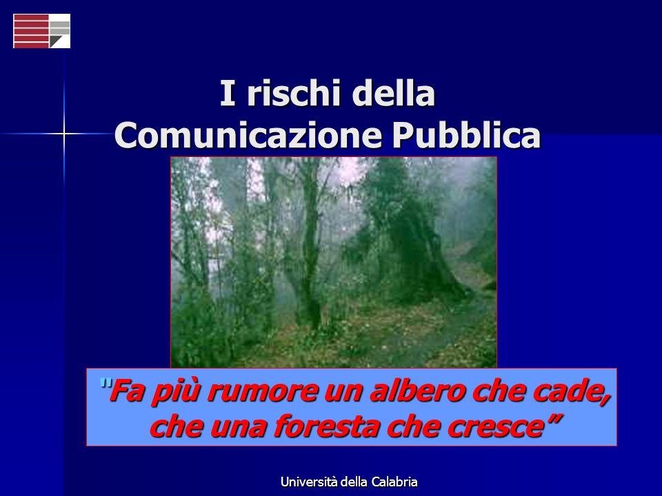 I rischi della Comunicazione Pubblica