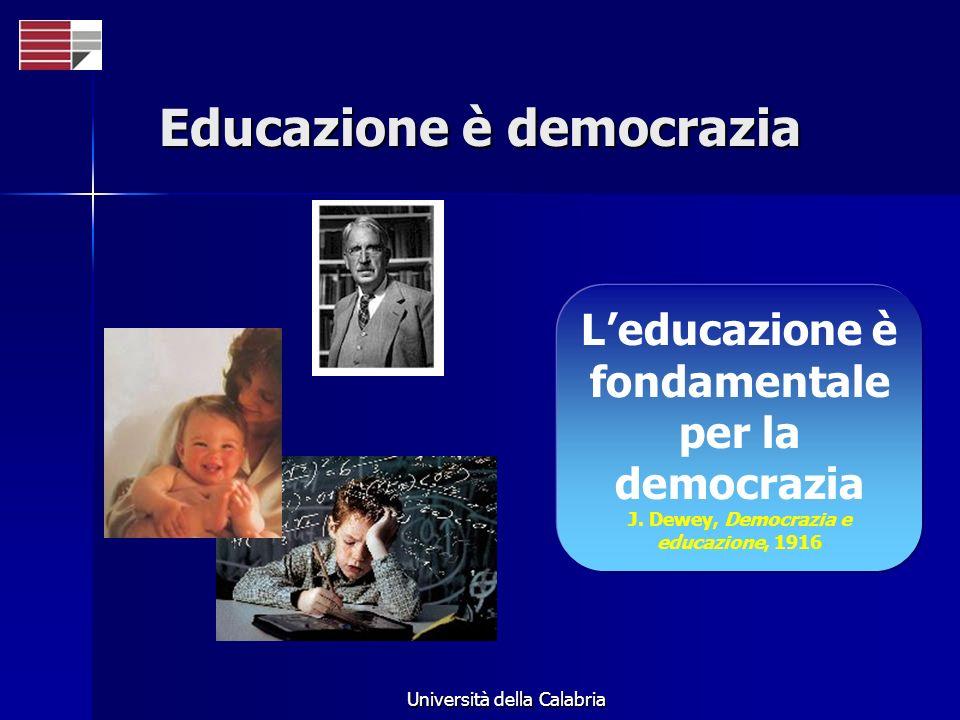 Educazione è democrazia