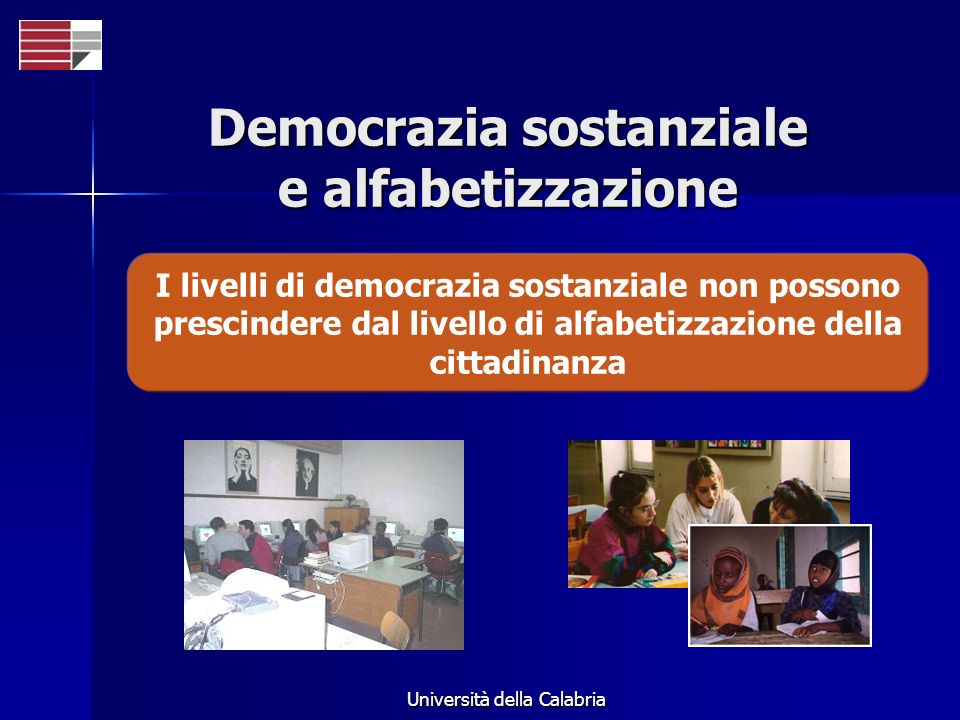 Democrazia sostanziale e alfabetizzazione