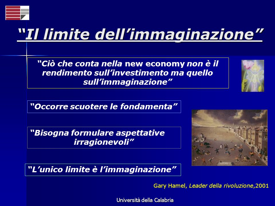 Il limite dell'immaginazione