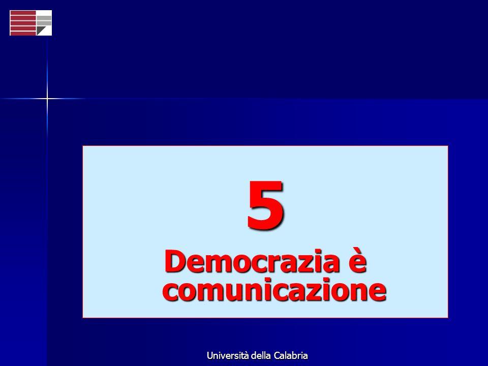 Democrazia è comunicazione