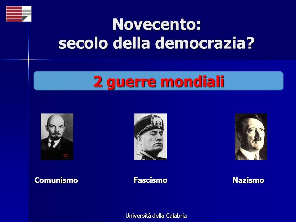 Novecento: secolo della democrazia