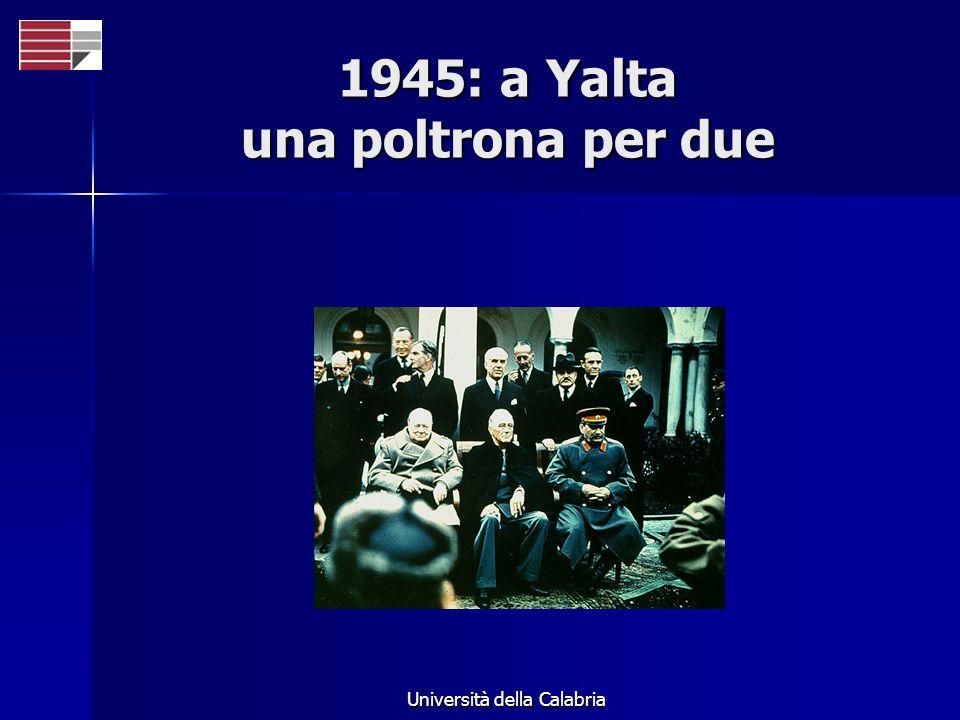 1945: a Yalta una poltrona per due