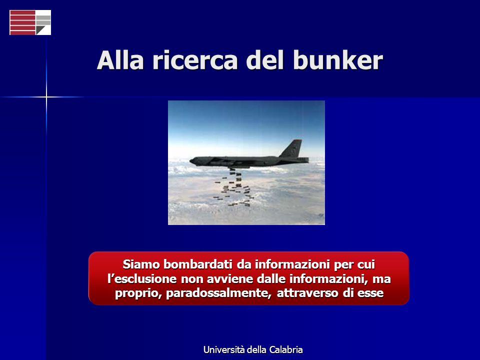 Alla ricerca del bunker