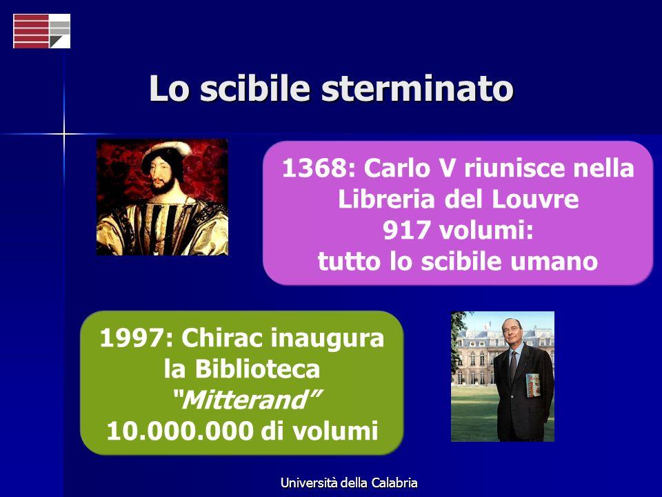Lo scibile sterminato 1368: Carlo V riunisce nella Libreria del Louvre