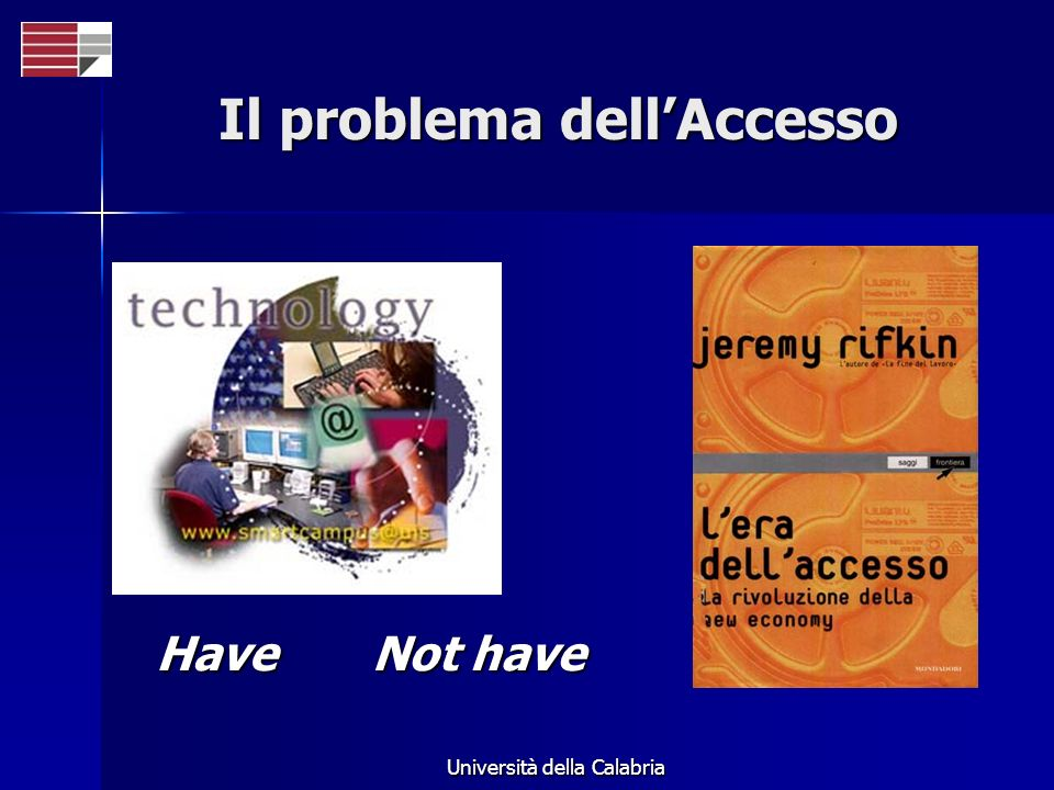 Il problema dell'Accesso