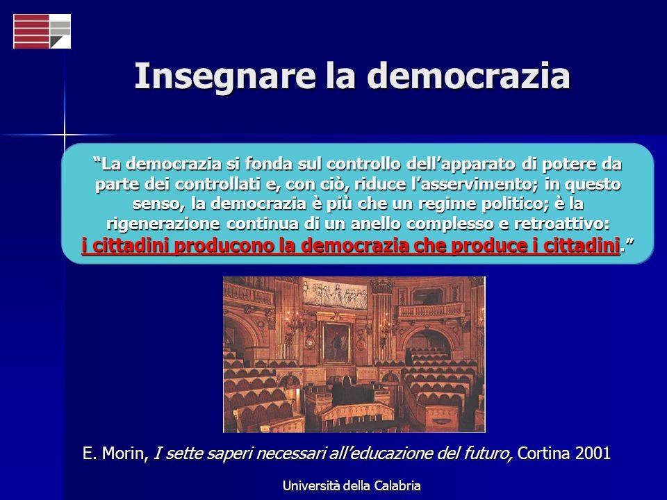 Insegnare la democrazia