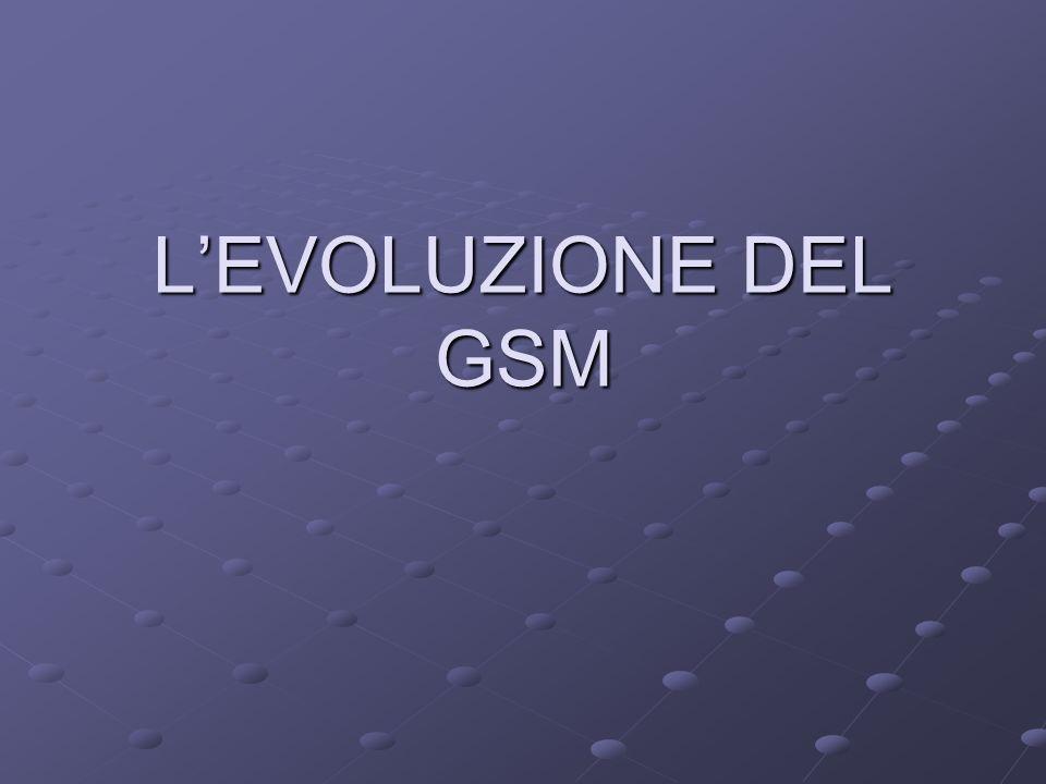 L'EVOLUZIONE DEL GSM