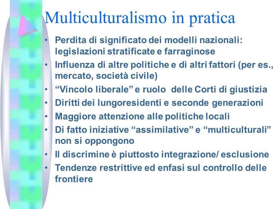 Multiculturalismo in pratica