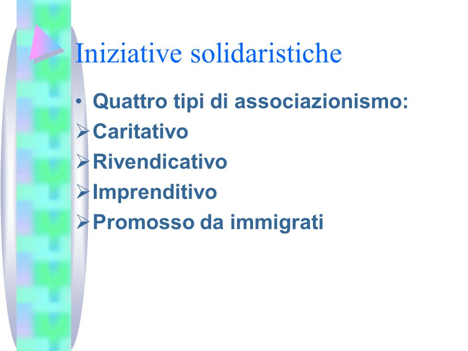 Iniziative solidaristiche