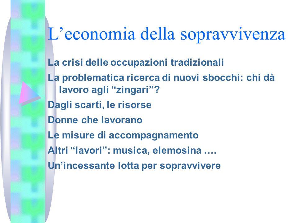 L'economia della sopravvivenza