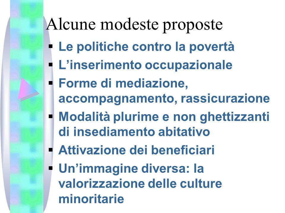Alcune modeste proposte
