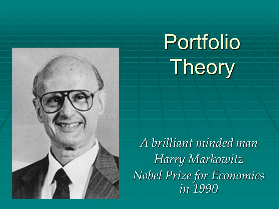 Nobel Prize for Economics in 1990