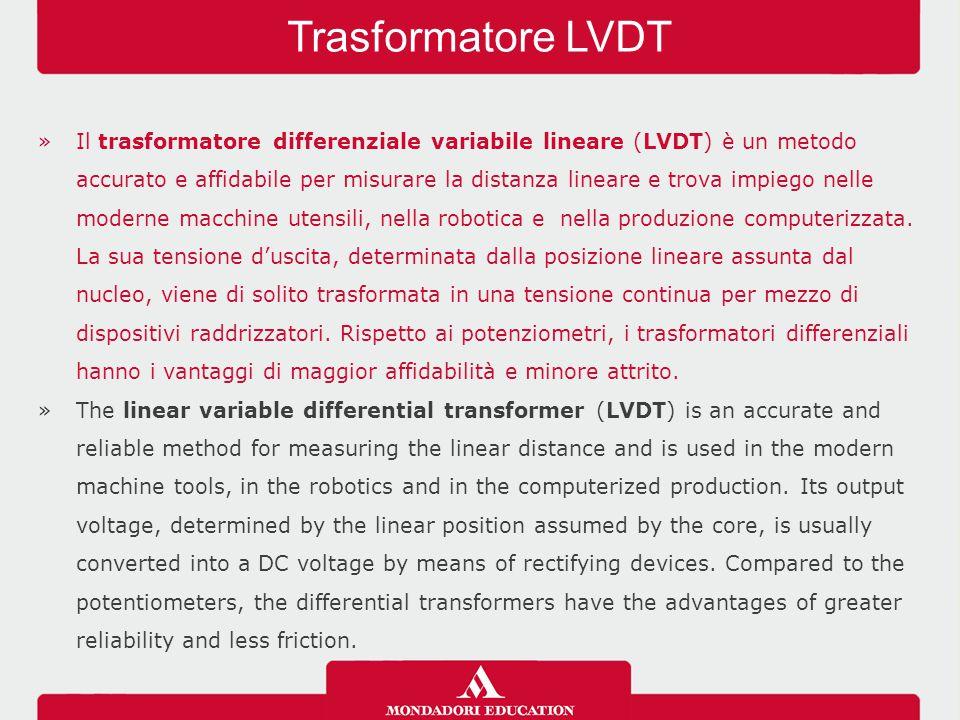 Trasformatore LVDT