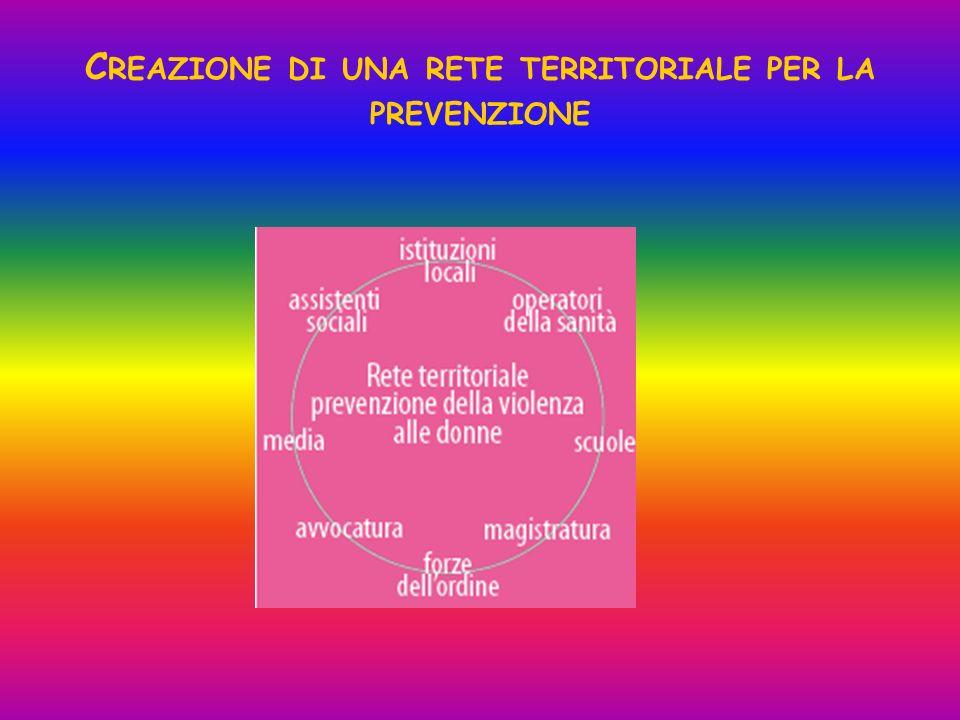 Creazione di una rete territoriale per la prevenzione