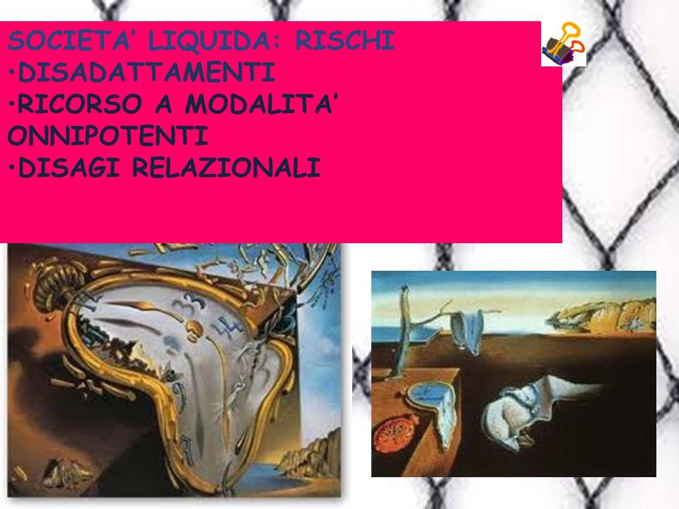 SOCIETA' LIQUIDA: RISCHI