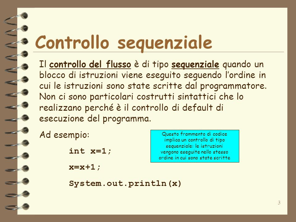 Controllo sequenziale