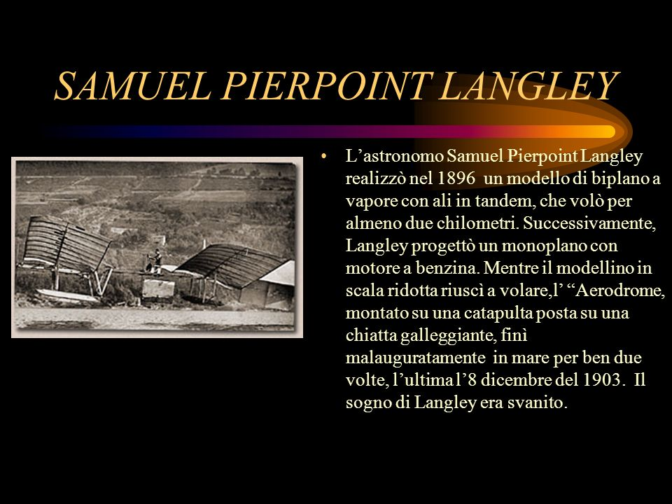 SAMUEL PIERPOINT LANGLEY