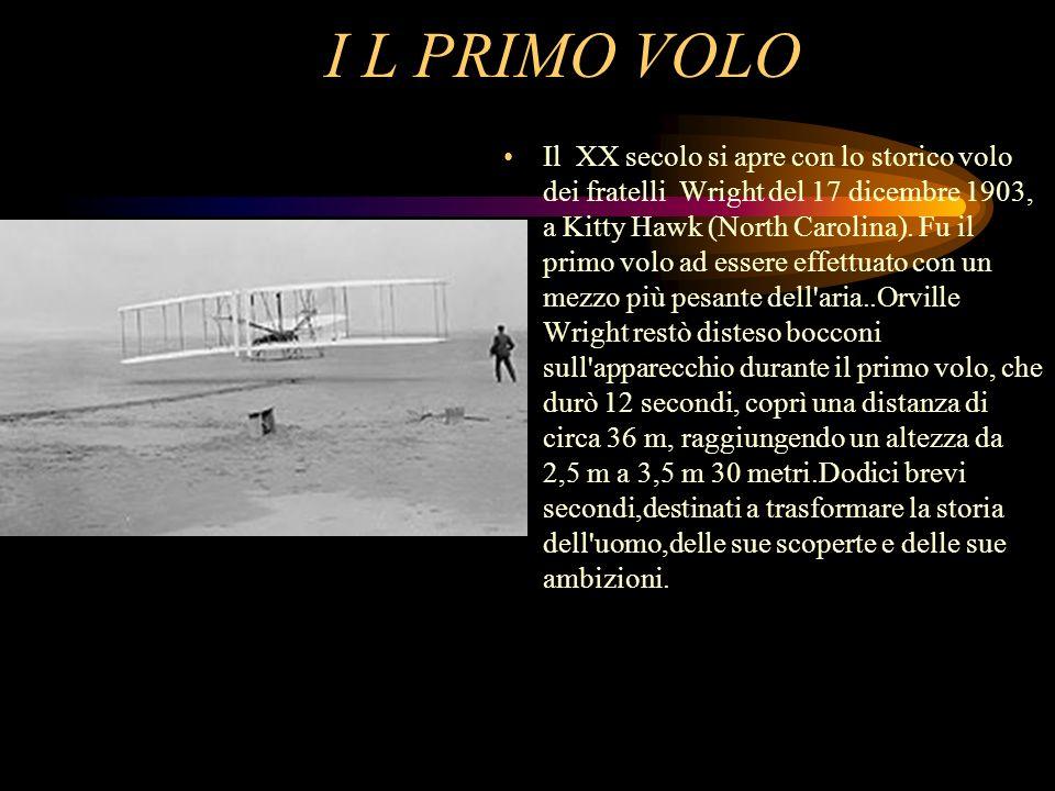 I L PRIMO VOLO