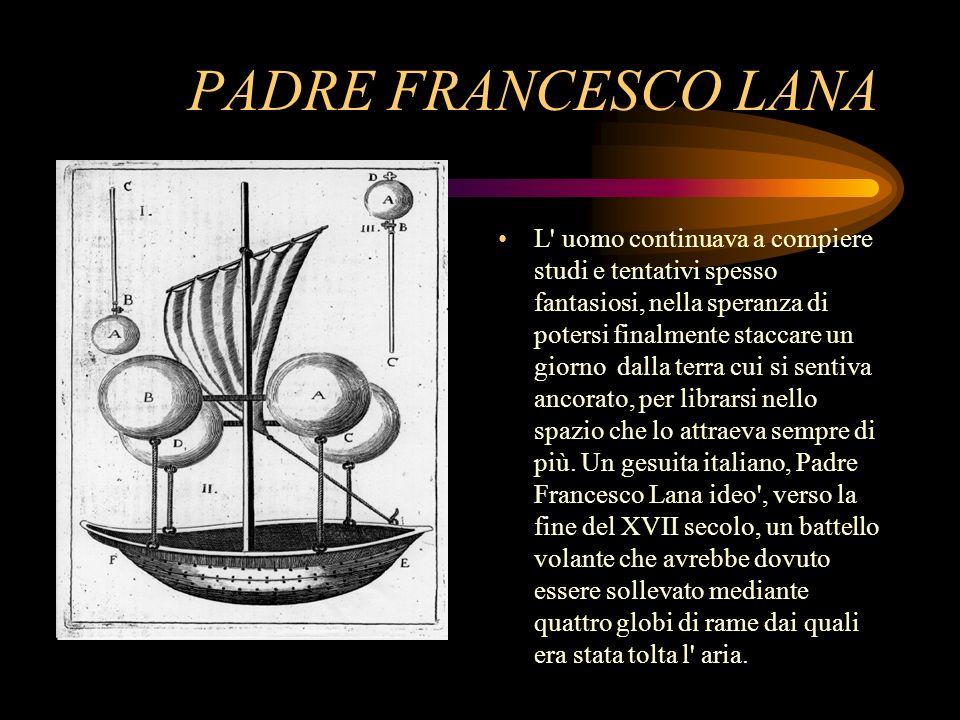 PADRE FRANCESCO LANA