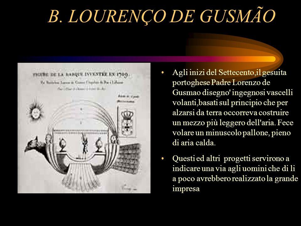 B. LOURENÇO DE GUSMÃO