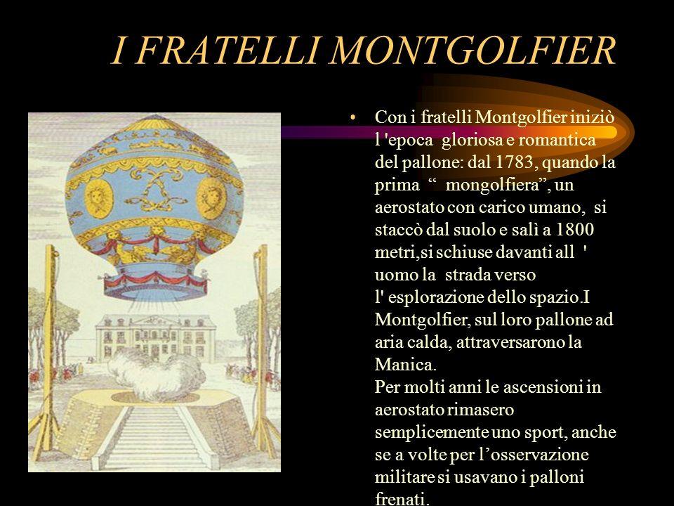 I FRATELLI MONTGOLFIER