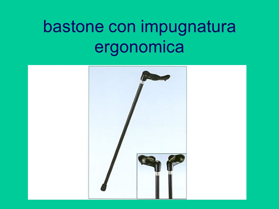 bastone con impugnatura ergonomica