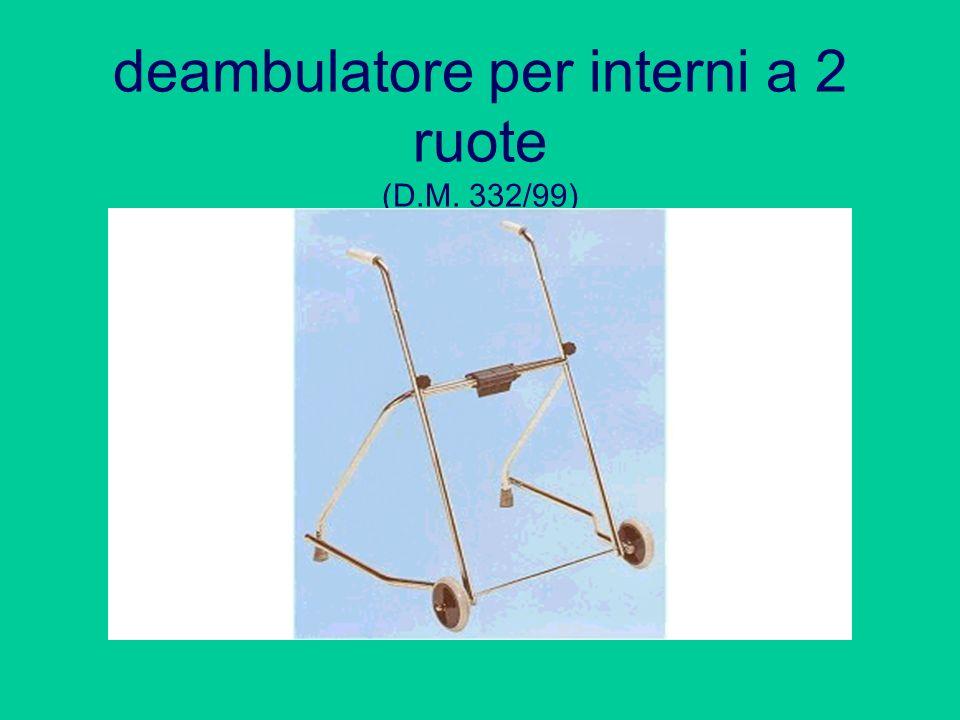 deambulatore per interni a 2 ruote (D.M. 332/99)