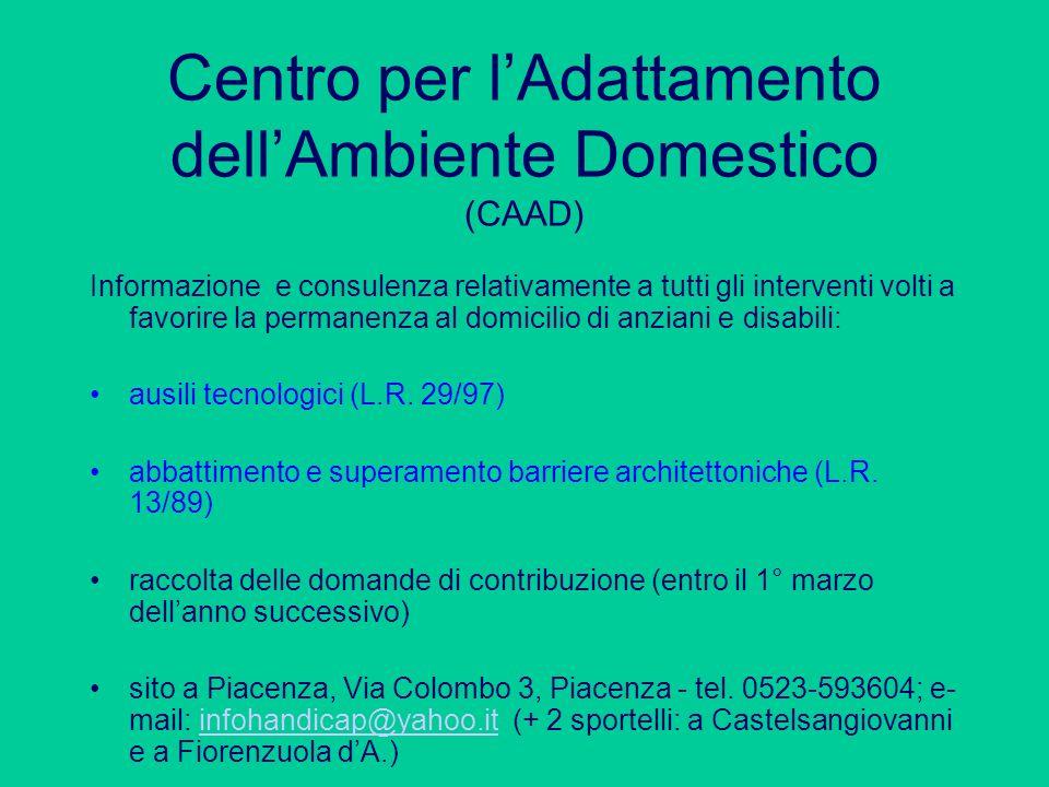 Centro per l'Adattamento dell'Ambiente Domestico (CAAD)