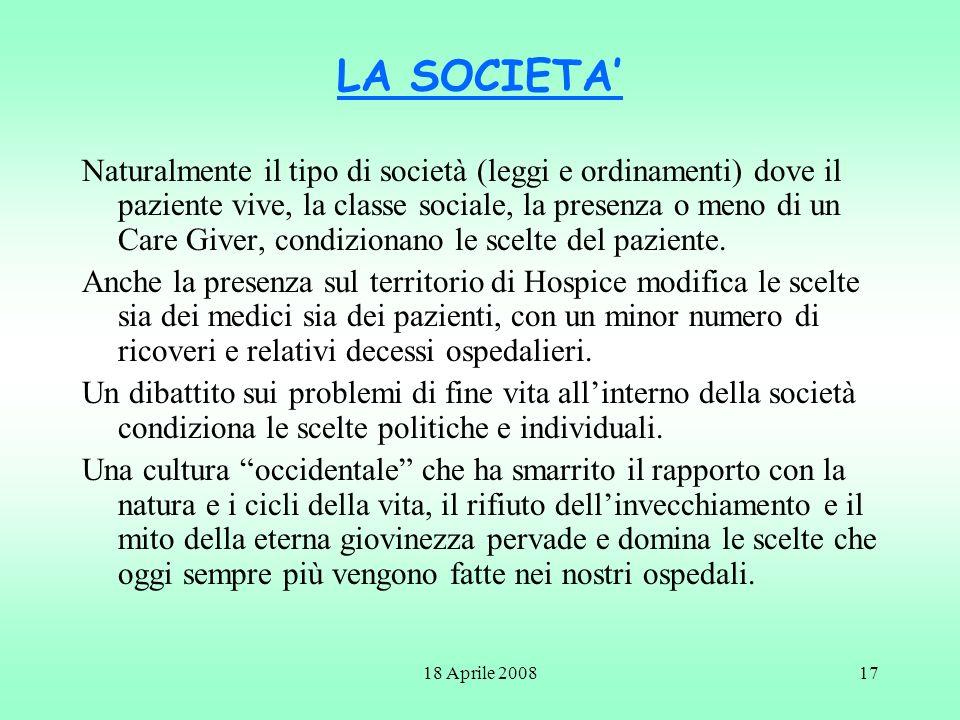 LA SOCIETA'