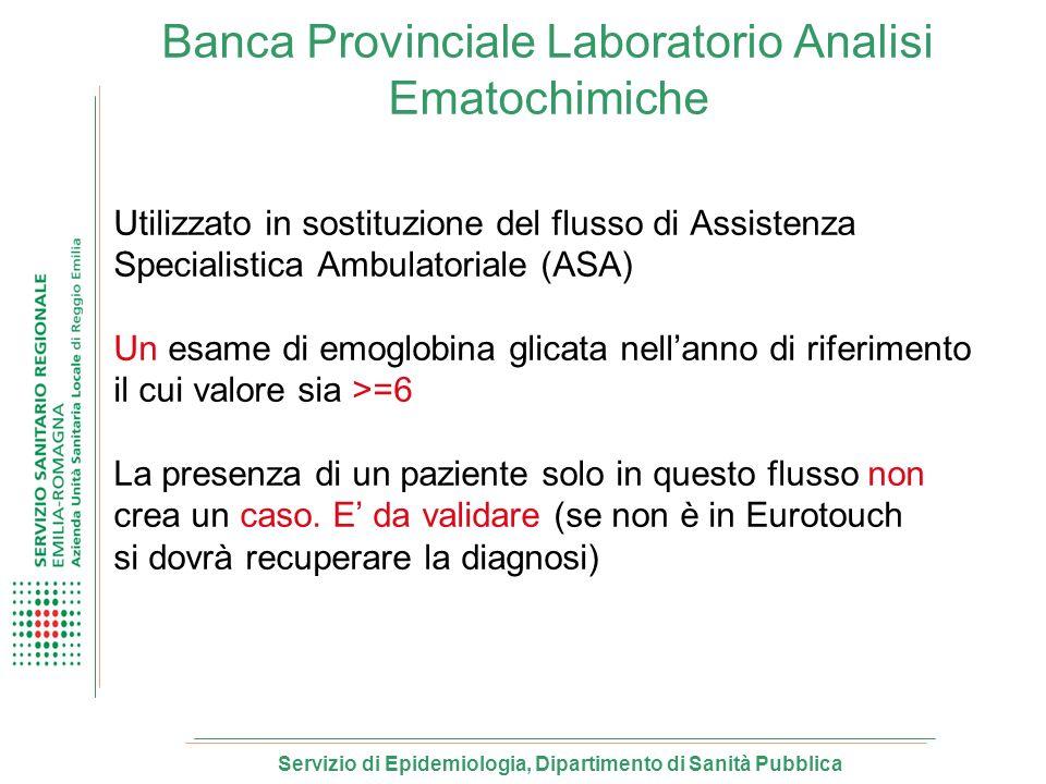 Banca Provinciale Laboratorio Analisi Ematochimiche