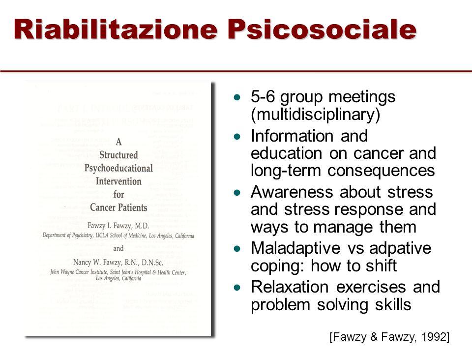 Riabilitazione Psicosociale
