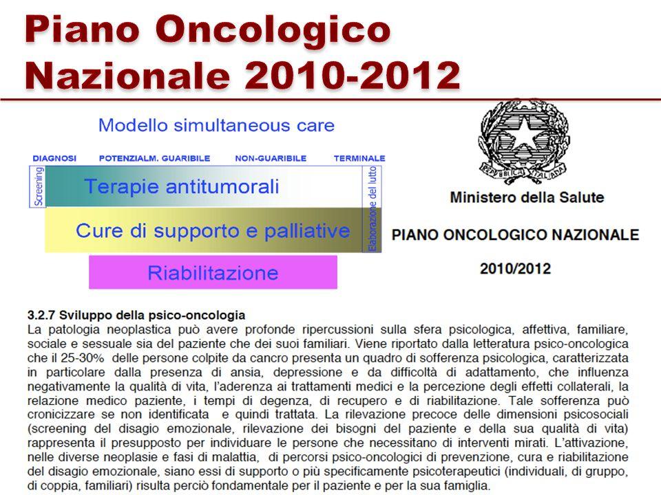 Piano Oncologico Nazionale 2010-2012